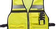 chaleco reflectante con multi bolsillos