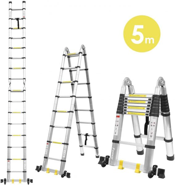 comprar escalera de aluminio barata