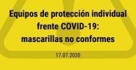 mascarilla eficaz contra coronavirus EPI