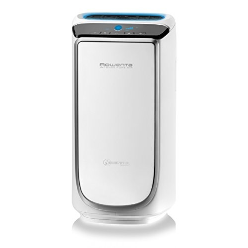 Rowenta PU4020 Intense Pure Air - Purificador de aire, hasta 60 m² con sensores del nivel de contaminación, 4 niveles de filtración y tecnología NanoCaptur para sustancias contaminantes